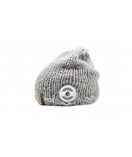 Bar Long Beanie grey