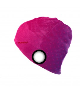 Light Beanie pink-purple