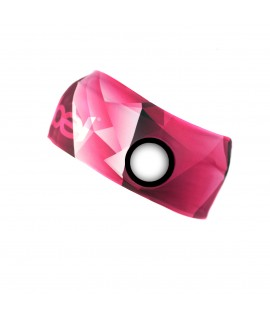 Performance Headband pink-white