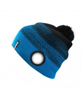 Warm Up Beanie turquoise-black